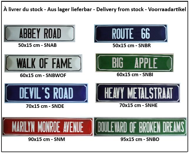 Plaques de rue emaillees, Strassenschilder email, Strassenaschild emaille Street signs enamel, Straatnaambord, straatnaamborden.